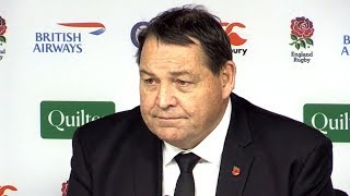 England v New Zealand - Steve Hansen & Kieran Read Post Match Press Conference