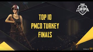 TOP 10 PMCO Turkey Finals PMCO 2020