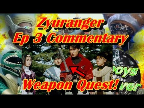 Zyuranger Episode 3: Fight in the Land of Despair Commentary Track