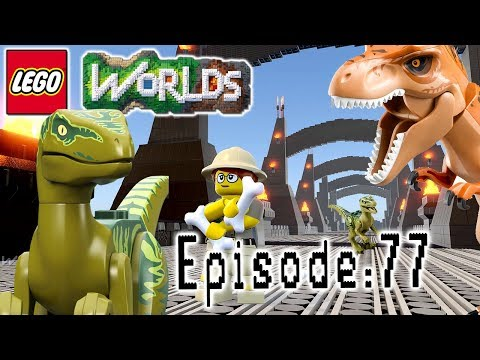Let's Build LEGO Jurassic World: Part 2: Let's Play Lego Worlds: Episode 77