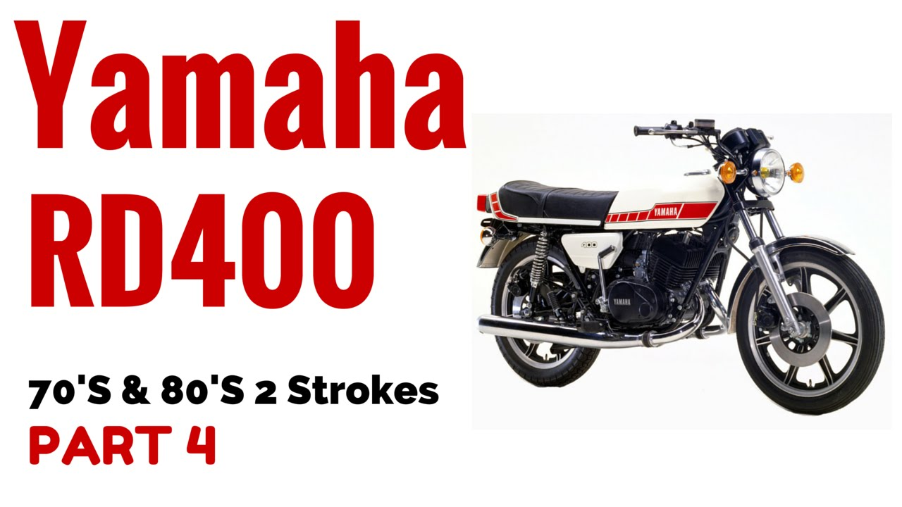 The Yamaha RD400 Motorcycle Review 70's & 80's 2 Strokes Part 4