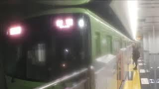 【京王線】 8000系8713F(高尾山トレイン) 準特急 新宿行き 調布発着