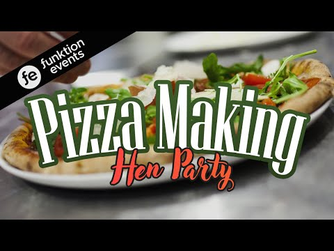 PIZZA MAKING HEN PARTY | Learn How to Create Your Own Pizza Masterpiece