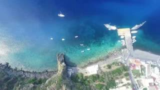 Isole Eolie Isola di Filicudi - Vendesi Splendida Villa Fronte Mare a Pecorini Mare