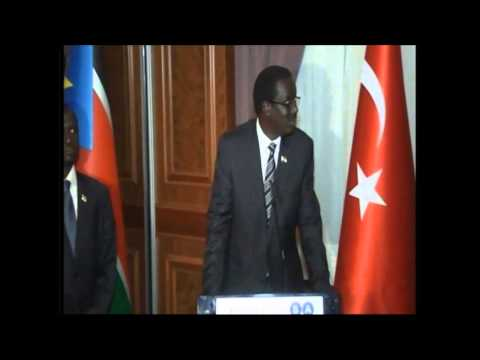 Inauguration of the Embassy of South Sudan to Turkey
