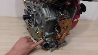 Дизельный двигатель Weima WM186FBE с эл.стартером