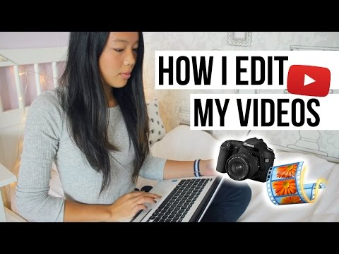 How I Edit My Videos With Windows Movie Maker Tutorial | Littleworldofeline