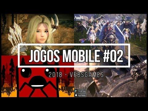 Top Lançamentos De Novos Jogos Android E IOS Para 2018 #02