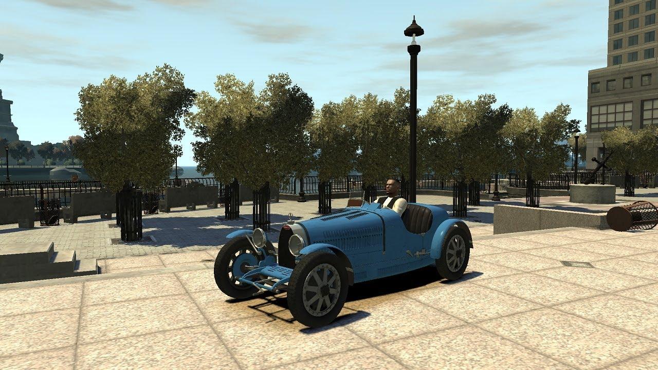 Grand Theft Auto IV - 1925 Bugatti Type 35C - Vintage ...