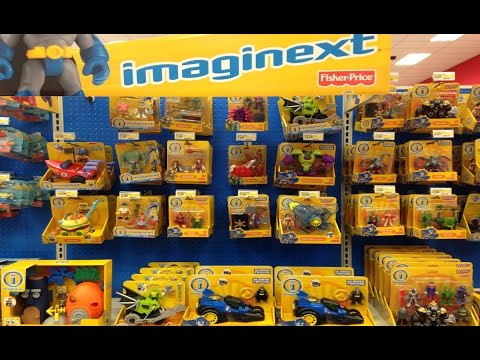 New Imaginext Toys at Target Batman Spongebob