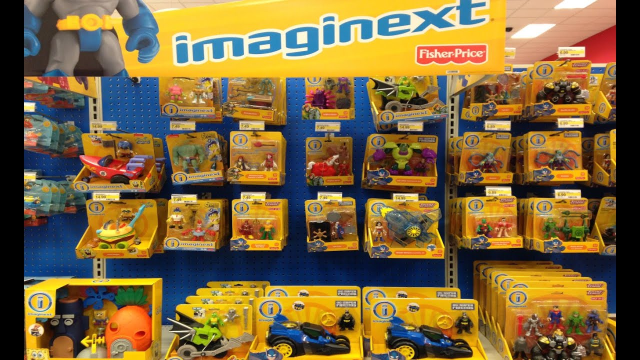 Toys From Target : New imaginext toys at target batman spongebob youtube