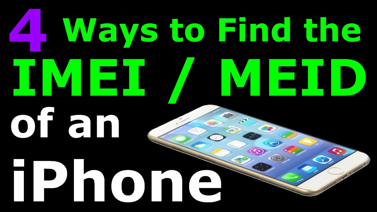 How do i find out my imei number iphone