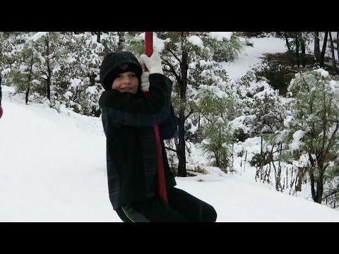 Snowy Payson Cabin Adventure