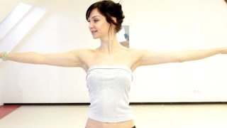 Bellydance Snake Arms 1 How-To Elegant Arm Technique
