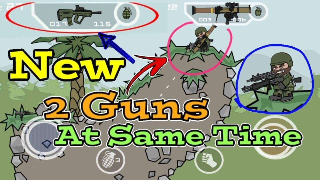 mini militia all gun hack apk download