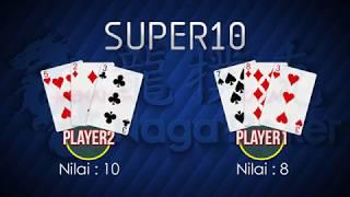 TUTORIAL SERU CARA BERMAIN SUPER TEN (SUPER10) | NAGAPOKER