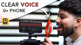 Record Your Voice Professionally On Phone | Full tutorial & Live Test
