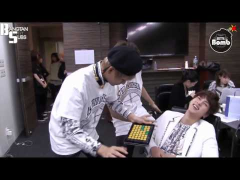 [ENG] 150120 [BANGTAN BOMB] 95z dance time with a Beat app