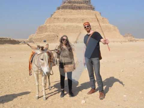 Arabeya's Trip to Saqqara in Egypt
