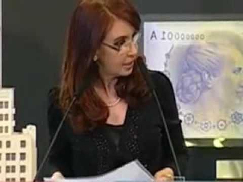 Cristina Fernández y su opinion sobre la diabetes