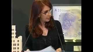 Cristina Fernández y su opinion sobre la diabetes