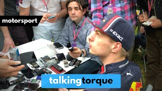Max Verstappen Exclusive Press Interview   Behind Formula 1