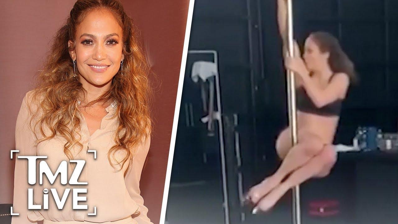 Jennifer Lopez Is A Sexy Pole Dancer Now | TMZ Live