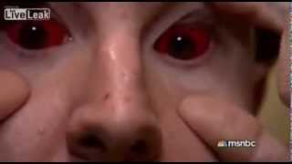 insane jail footage three inmates tattooed their eyeballs with pen ink would you do the same