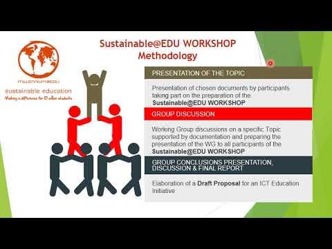 Sustainable@EDU-PFA ACCELERATOR WORKSHOP   Millennium@EDU