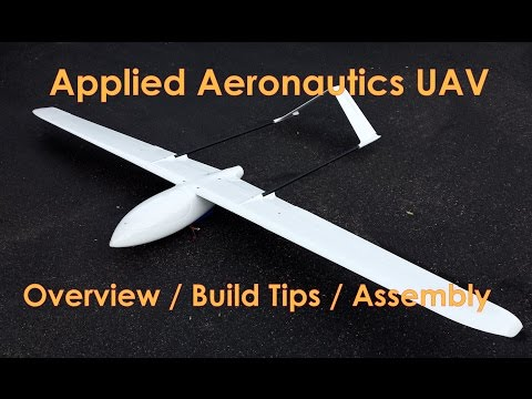 Applied Aeronautics Albatross - Overview/Build Tips/Assembly
