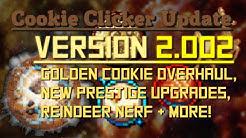 Cookie Clicker: Update 2.002 - Golden Cookie Overhaul
