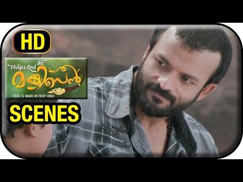 Philips and the Monkey Pen Malayalam Movie | Scenes | Sanoop in beach with Jayasurya | HD