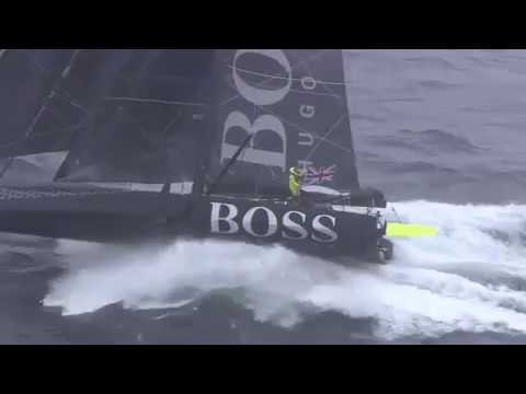 Incredible video! Banque Populaire and Hugo Boss sailing at Kerguelen Islands