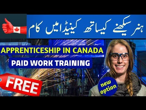 TRAINING AND PAID WORK IN CANADA FOR LESS EDUCATED PEOPLE  |  VISA GURU