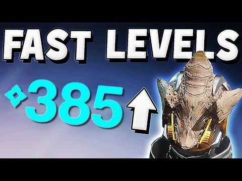 Destiny 2 - FAST POWER LEVEL WARMIND DLC 335 TO 385 FAST !!