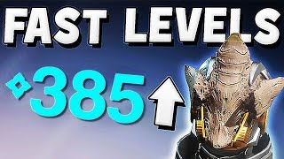 Destiny 2 - FAST POWER LEVEL WARMIND DLC 335 TO 385 FAST !!