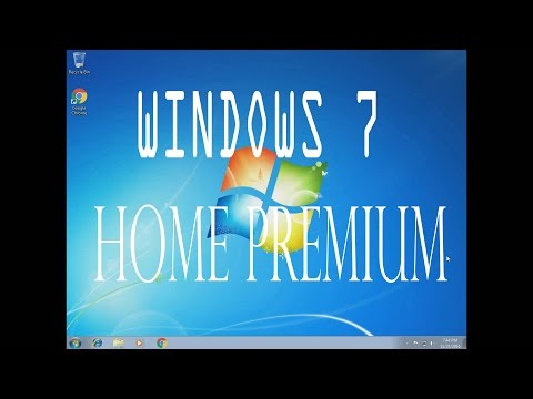 How To Install & Activate Windows 7 Home Premium (2016/2017)