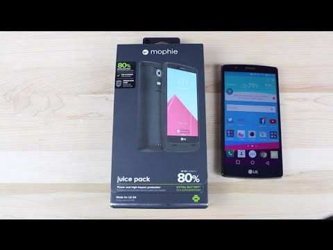best sneakers 2d978 bba80 Official Mophie Juice Pack Extended 3450mah Battery Case LG G4