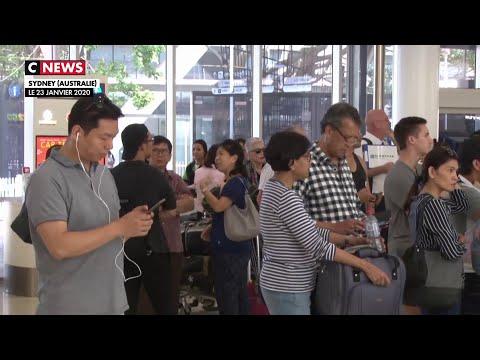Coronavirus: les contrôles renforcés dans les aéroports