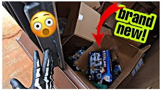 **DUMPSTER DIVING - WOW! THESE ARE BRAND NEW!