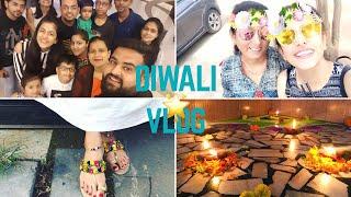 Diwali vlog 2017 | Celebrations, Rangoli,Sweet,Gifts,Family | vinita kukreja
