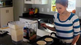 Whole Wheat Blender Pancake Recipe
