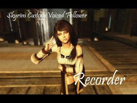 Skyrim Follower Mod: Recorder Trailer