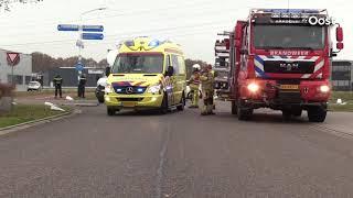 Vrouw gewond naar ziekenhuis na ongeluk in Hardenberg