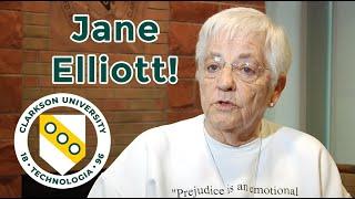 Blue Eyes/Brown Eyes Exercise Creator Jane Elliott Visits Clarkson University