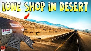 Running a SHOP in the Middle of The DESERT |Rust Shop Series ep.1