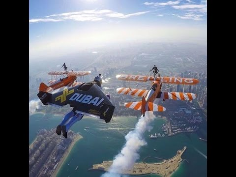 Amazing Superman Experience in Dubai- United Arab Emirates  تجربة سوبرمان بدبي - التحليق المجنون