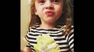 little girl featured on MTV Deliciousness **Full Video** Little girl pretending to like moms cooking