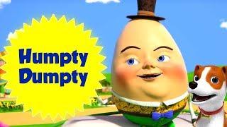 Шалтай-Болтай сидел на стене | детские стишки | мультфильм яйцо рифма | Humpty Dumpty Sat On A Wall
