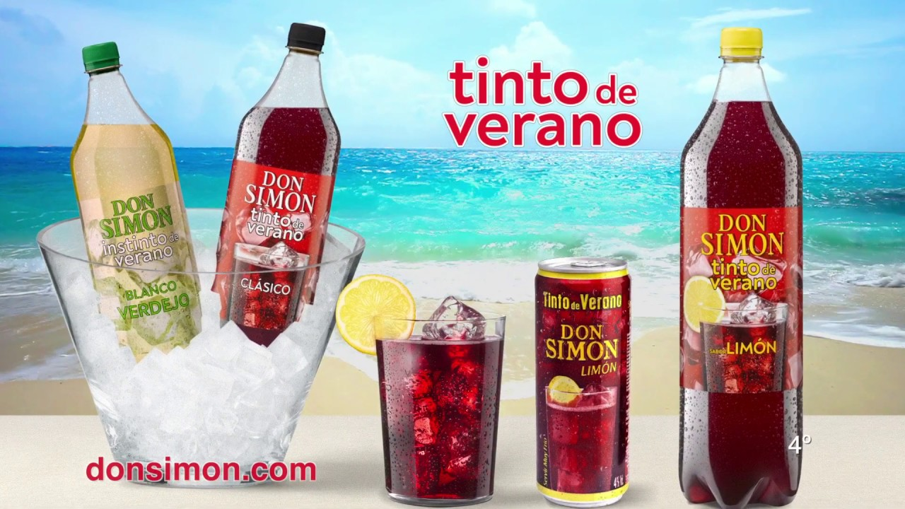 Tinto De Verano Don Simon Fiesta Donsimon Youtube